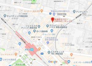 キレイモ津田沼店の地図
